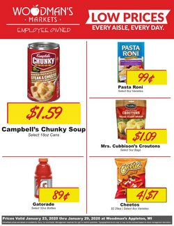 Woodman's deals in the Appleton WI weekly ad