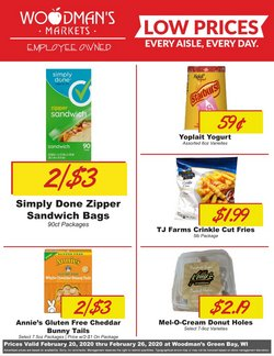 Grocery & Drug offers in the Woodman's catalogue in Green Bay WI ( 2 days ago )