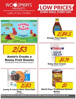 Grocery & Drug offers in the Woodman's catalogue in Waukesha WI ( Expires today )