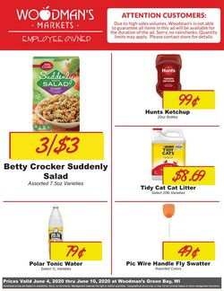 Grocery & Drug offers in the Woodman's catalogue in Green Bay WI ( 1 day ago )