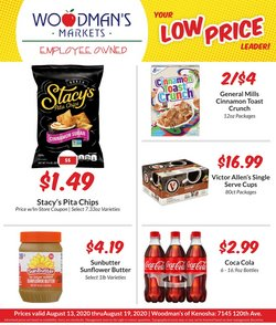 Grocery & Drug offers in the Woodman's catalogue in Racine WI ( 1 day ago )