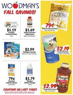 Grocery & Drug offers in the Woodman's catalogue in Rockford IL ( Expires today )