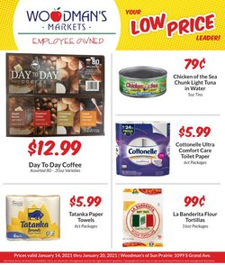 Grocery & Drug offers in the Woodman's catalogue in Madison WI ( 3 days left )