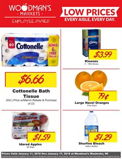 Woodman's deals in the Milwaukee WI weekly ad