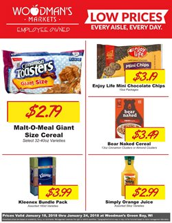 Woodman's deals in the Green Bay WI weekly ad