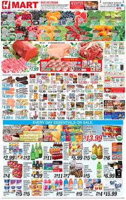 TV deals in the Hmart weekly ad in New York