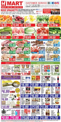 Hmart deals in the Milpitas CA weekly ad