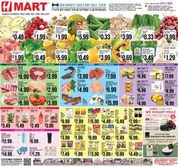 Grocery & Drug deals in the Hmart catalog ( Published today)