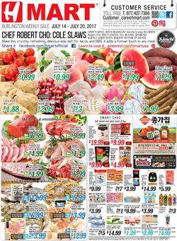 Hmart deals in the Boston MA weekly ad