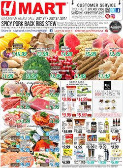 Hmart deals in the Needham MA weekly ad