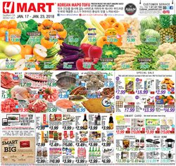 Grocery & Drug deals in the Hmart weekly ad in Los Angeles CA