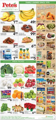 Pete's Fresh Market deals in the Chicago IL weekly ad