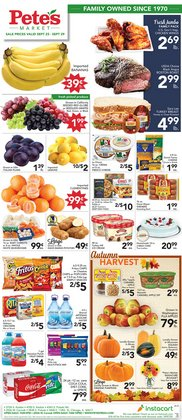 Pete's Fresh Market catalogue in Chicago IL ( 2 days left )
