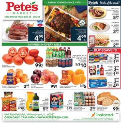 Grocery & Drug offers in the Pete's Fresh Market catalogue in Cicero IL ( 1 day ago )