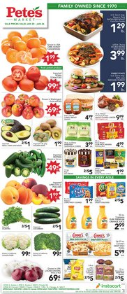 Pete's Fresh Market catalogue in Chicago IL ( 2 days ago )