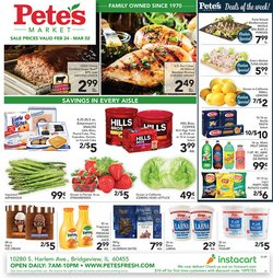 Grocery & Drug offers in the Pete's Fresh Market catalogue in Cicero IL ( 2 days left )
