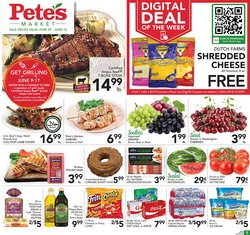 Grocery & Drug deals in the Pete's Fresh Market catalog ( Expires tomorrow)