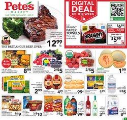 Grocery & Drug deals in the Pete's Fresh Market catalog ( Expires today)
