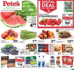 Grocery & Drug deals in the Pete's Fresh Market catalog ( 2 days left)