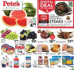 Pete's Fresh Market deals in the Pete's Fresh Market catalog ( Expires today)