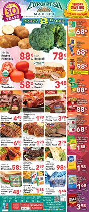 Grocery & Drug offers in the Eurofresh Market catalogue in Arlington Heights IL ( Expires today )
