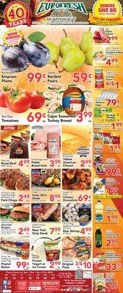 Eurofresh Market deals in the Eurofresh Market catalog ( 3 days left)