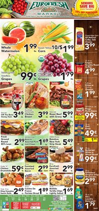 Eurofresh Market deals in the Palatine IL weekly ad