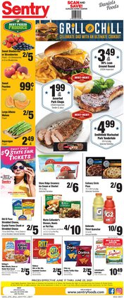 Grocery & Drug deals in the Sentry catalog ( Expires tomorrow)