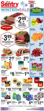 Sentry deals in the Milwaukee WI weekly ad