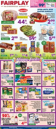 Fairplay deals in the Chicago IL weekly ad