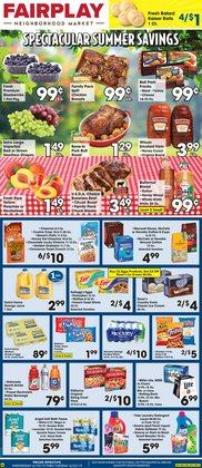 Grocery & Drug deals in the Fairplay weekly ad in Chicago IL