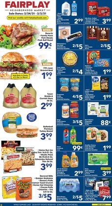 Grocery & Drug offers in the Fairplay catalogue in Cicero IL ( 2 days left )