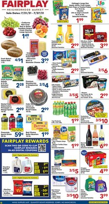 Grocery & Drug deals in the Fairplay catalog ( Expires today)