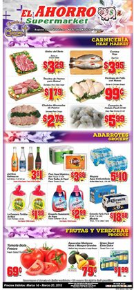 Grocery & Drug deals in the El Ahorro weekly ad in Humble TX