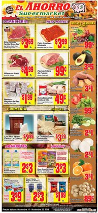 Grocery & Drug deals in the El Ahorro weekly ad in San Antonio TX