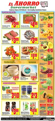 El Ahorro deals in the San Antonio TX weekly ad