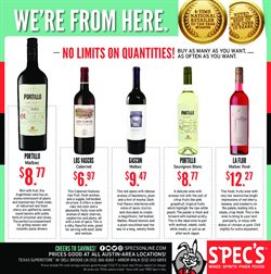 Spec's deals in the Beaumont TX weekly ad