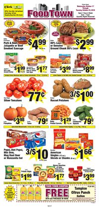 Grocery & Drug deals in the Food Town Store weekly ad in Sugar Land TX