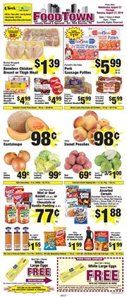 Grocery & Drug deals in the Food Town Store weekly ad in Houston TX