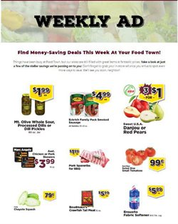 Food Town Store catalogue ( 1 day ago )