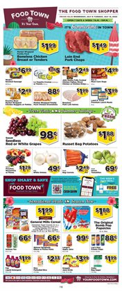 Grocery & Drug offers in the Food Town Store catalogue in Sugar Land TX ( 1 day ago )