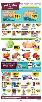 Food Town Store catalogue in Houston TX ( Expires tomorrow )