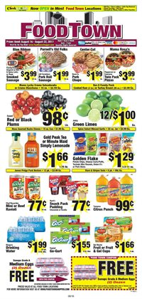 Food Town Store deals in the Houston TX weekly ad