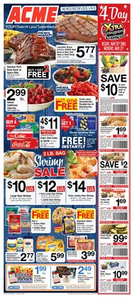 Coffee deals in the ACME weekly ad in New York