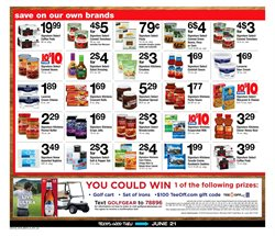 Golf deals in the ACME weekly ad in New York