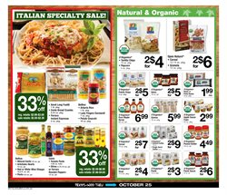 Wine deals in the ACME weekly ad in New York