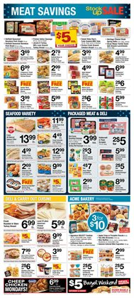 Swing deals in the ACME weekly ad in New York