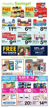 Pharmaceutical products deals in the ACME weekly ad in New York