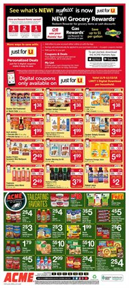 Cereals deals in the ACME weekly ad in New York