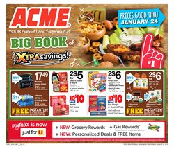 ACME deals in the Yonkers NY weekly ad